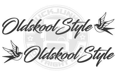 OLDSKOOL STYLE SWALLOW - STICKER