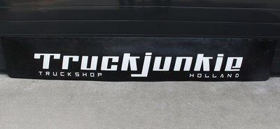 MUDFLAP RUBBER - TRUCKJUNKIE HOLLAND - RELIEF LETTERS