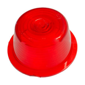 RED GLASS Danish side marker light  - GYLLE