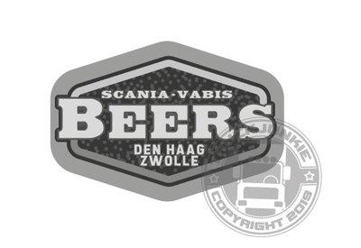 BEERS DEN HAAG-ZWOLLE - FULL PRINT STICKER