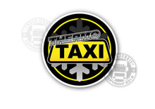 thermo taxi sticker truck