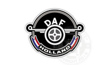 DAF HOLLAND OLDSKOOL STICKER VRACHTWAGEN VEERBLAD