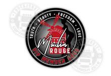 MOULIN ROUGE MEMBER AREA STICKER - PIN UP